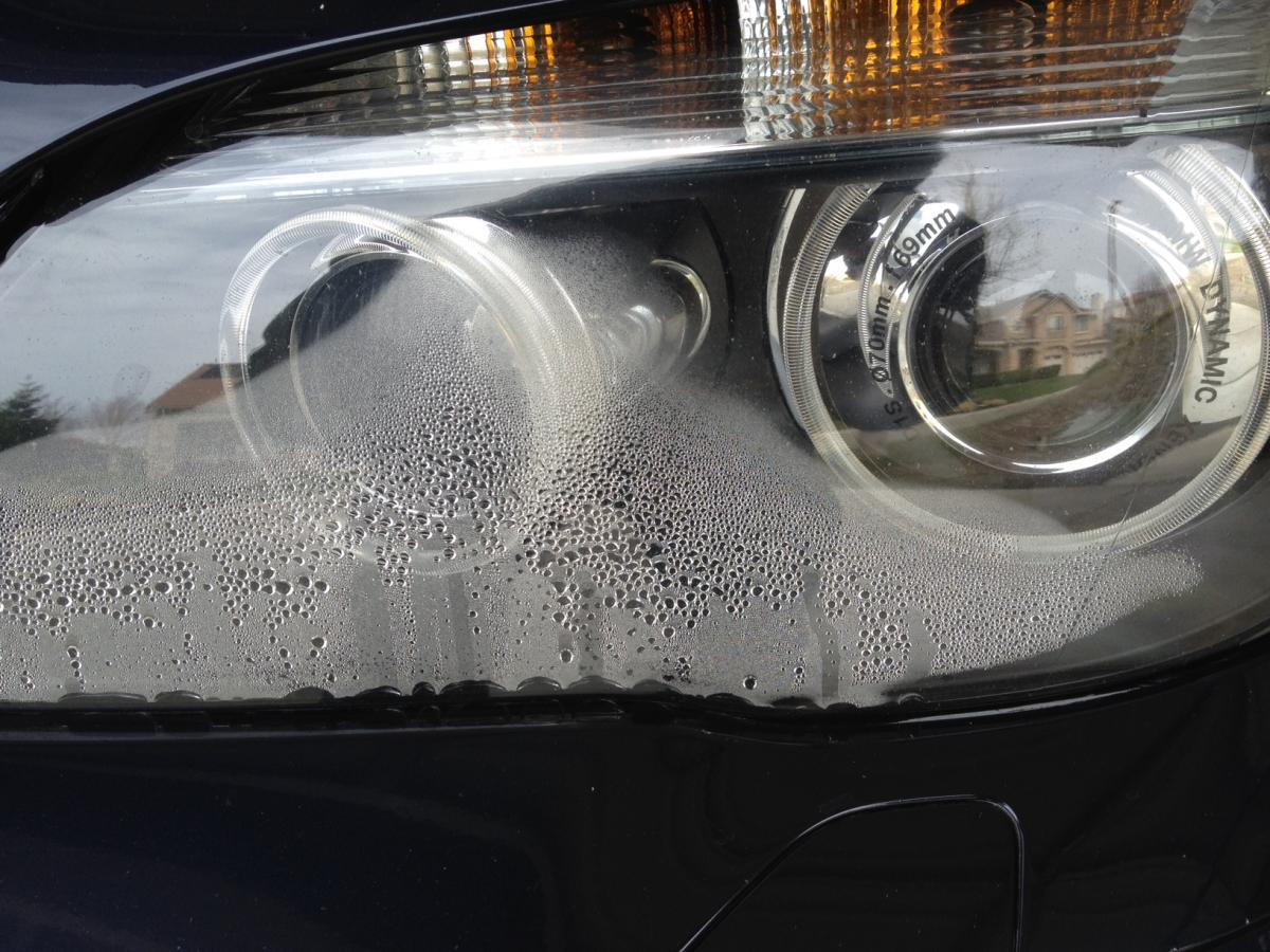 Headlight Condensation on a Kia Vehicle